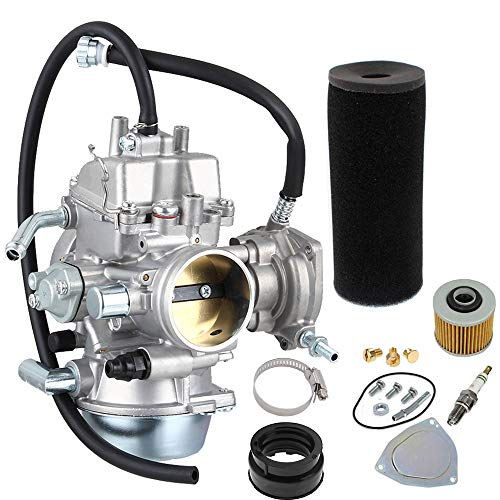 NEW Carburetor Carb Replacement for 2002-2008 Yamaha Grizzly YFM660 660 4x4 by LIYYOO