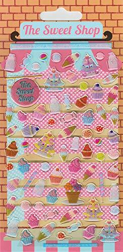 Paper Projects 01.70.19.003 Lot de Stickers en résine Sweet Shop Kidscraft