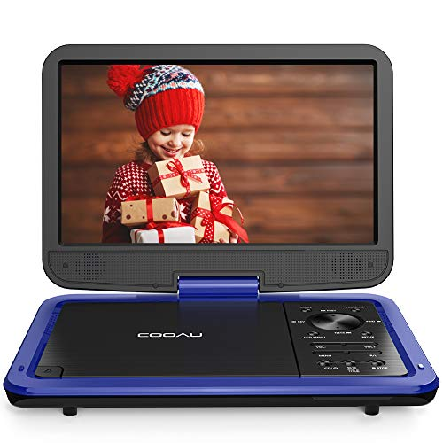 "Cheap COOAU 12.5"" Portable DVD Player with HD Swivel Screen, 5 Hours Built-in Rechargeable Battery..."