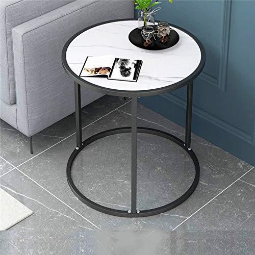 Mazu Homee Couchtisch Beistelltisch Modern Couchtisch mit Kunstmarmorplatte Couple Tisch Magazin Couchtisch Beistelltisch