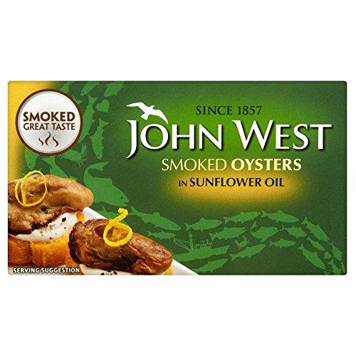 John West Ostriche Affumicate In Olio Di Girasole (85g)