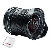 7artisans 12mm F2.8 APS-C Manuelle Objektiv für Fuji X Mount Kameras sowie X-A1 X-A10 X-A2 X-A3 X-at X-M1 XM2 X-T1 X-T10 X-T2 X-T20 X-Pro1 X-Pro2 X-E1 X-E2 X-E2s