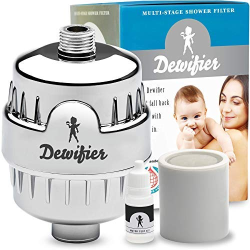 Dewifier Shower Filter for Fixed Showers