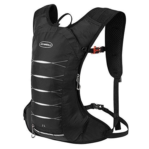 Lixada 3 L Outdoor Zaini in Bicicletta Zaino Impermeabile Zainetto Bag per L'escursionismo Campeggio