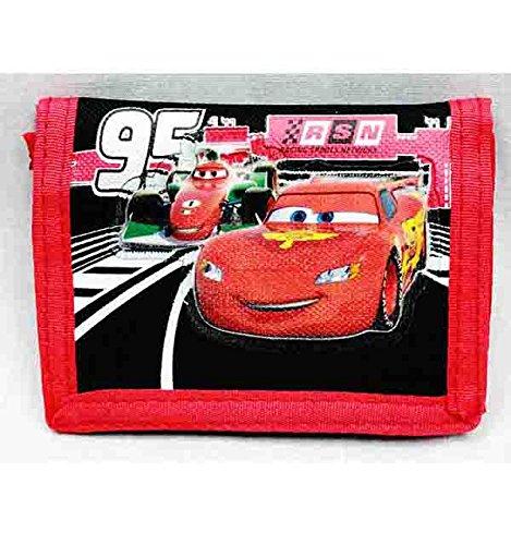Portefeuille 3 volets – Disney – Cars Mcqueen cadeau Jouets garçon sous licence A03781