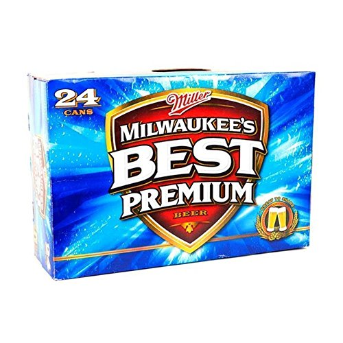 US Bier - 14 Sorten - 24 Dosen/Flaschen - Anheuser-Bush Bud Light Lime Coors Michelob Ultra Miller Genuine Draft High LifeMilwaukee Best Pabst Blue Ribbon lager (Milwaukee's Best, 24x 355ml)
