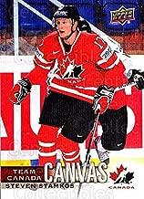 (CI) Steven Stamkos Hockey Card 2017-18 Upper Deck Team Canada Canvas 23 Steven Stamkos