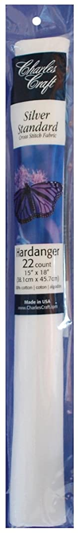 Charles Craft Silver Standard, Cross Stitch Fabric Hardanger 15 by 18-Inch