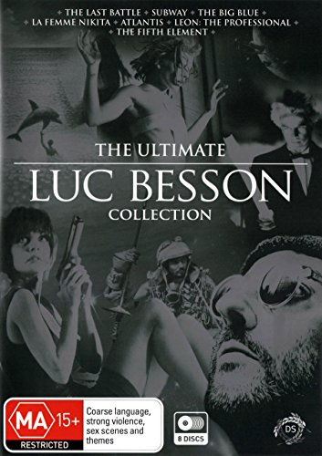Luc Besson - Ultimate Collection - 7-DVD Box Set ( Le dernier combat / Subway / Le grand bleu / La Femme Nikita / Atlantis / Léon / The Fifth Element [ NON-USA FORMAT, PAL, Reg.4 Import - Australia ]