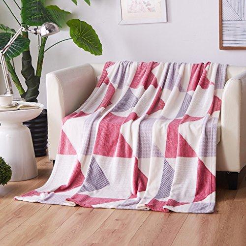 Wddwarmhome Couverture Polyester Matériel Hiver Couverture Chaude Chambre Couvert Avec Couverture Doux Et Confortable Quatre Saisons Disponible Couvertures ( taille : 200*230cm )