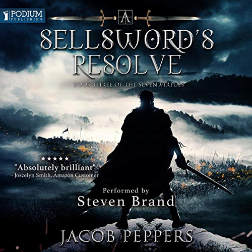 A Sellsword's Resolve audiobook cover art