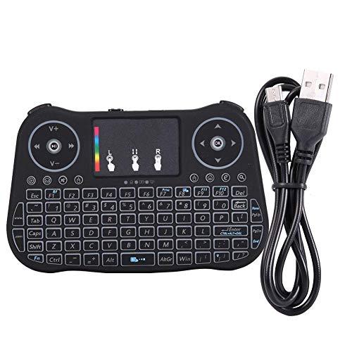 Muis, 2.4G draadloos touchpad-toetsenbord met achtergrondverlichting, Fly Air-muis voor pc Smart TV-box, ergonomisch ontworpen voor een perfecte look
