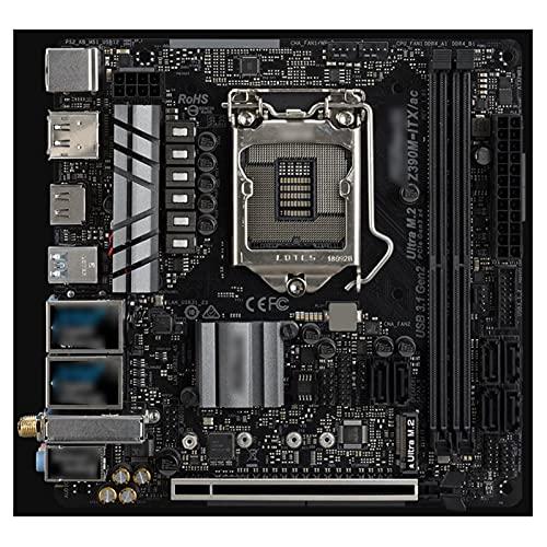 MYHJ Fit for Placa Base Asrock Z390M-ITX/AC Admite procesadores Intel Core  de 9.a y 8.a generación (zócalo 1151) DDR4 4000Mhz + (OC) DIS Placas Base para computadora