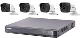 كاميرا عالية الوضوح 5 ميجابيكسل، 4 كاميرات و4 قنوات دي في ار، هايكفيجن