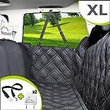 Meadowlark® Housse de siège pour Chien Voiture XL Universelle Imperméable! Protection complète Banquette arrière vehicule + portières + 2 appuis-tête. Couverture pour Animaux de qualité supérieure!