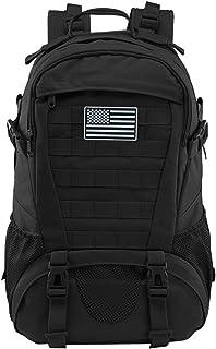 حقيبة الظهر التكتيكية للرجال مولي العسكرية حقيبة الظهر مقاومة للماء 30 لتر (بدون علم الولايات المتحدة الأمريكية)