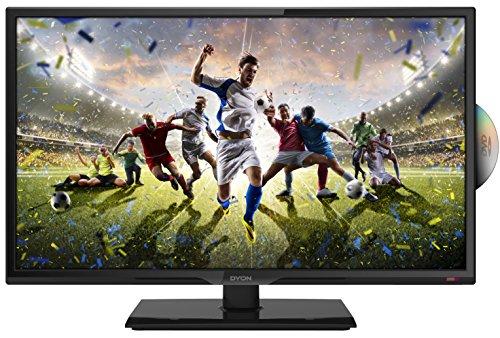Dyon Sigma 24 Pro 23,6 Zoll Fernseher   Mit Full-HD, Triple Tuner, DVB-T2 H.265/HEVC, DVD