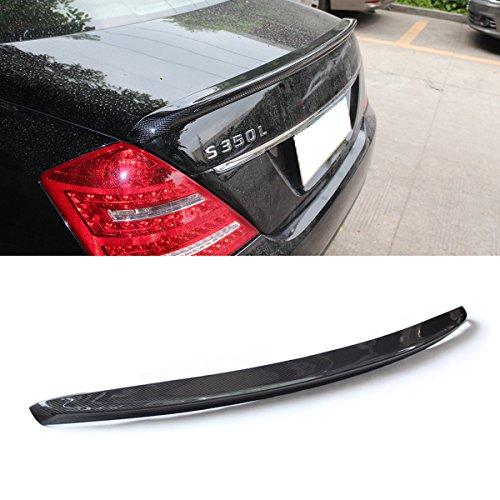 Carbon Fiber C74 Style Rear Trunk Lip Spoiler Wing for C Class W204 4-door Saloon C250 C300 C63 2007-2014 Fandixin W204 Spoiler