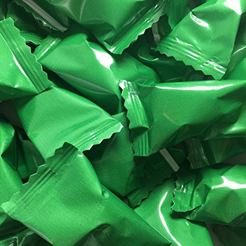 Buttermints - 13 oz. Bag - Approximately 100 Individually Wrapped Mints (Green)