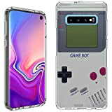 Galaxy S10 Case [Retro Gameboy](Clear) PaletteShield Flexible Slim TPU Skin Phone Cover (fit Samsung Galaxy S10)