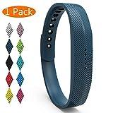 KingAcc Correa para Fitbit Flex 2, Silicona Suave Pulsera de Respueto con Hebilla de Metal Compatible con Fitbit Flex 2 smartwatch