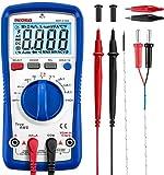 Multímetro digital Etekcity, MSR-A1000, amperímetro de voltímetro con voltímetro automático con resistencia de corriente AC/DC y medidor de diodos REL