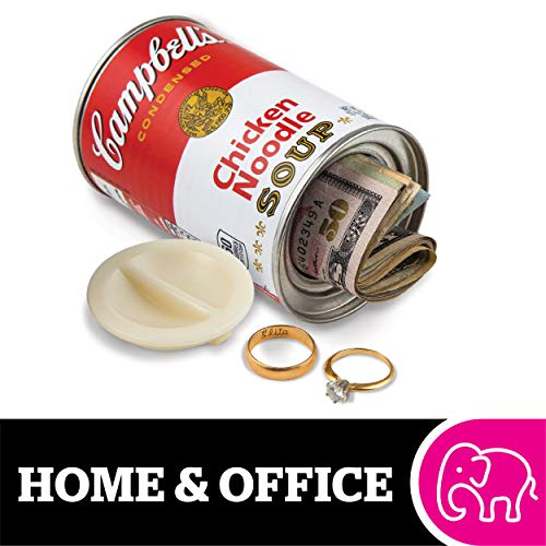 BigMouth Inc Campbell's Chicken Noodle Soup Can Safe —Great Hiding Place for Storing Valuables, 3