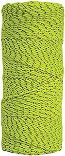 Kraft Tool BC354 Bonded Braided Mason's Line Tube, 500-Feet, Neon Green