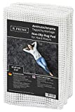 B.PRIME 2x3-Feet Non-Slip Rug Underlay Pad for Hard Floors. Different Size Options Available