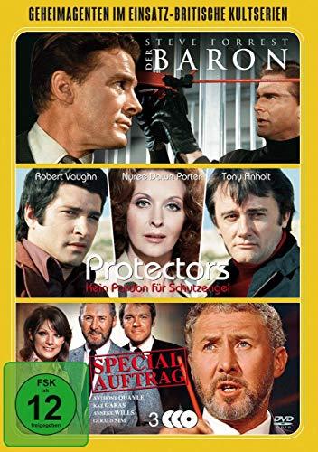 Geheimagenten im Einsatz - Britische Kultserien [3 DVDs]