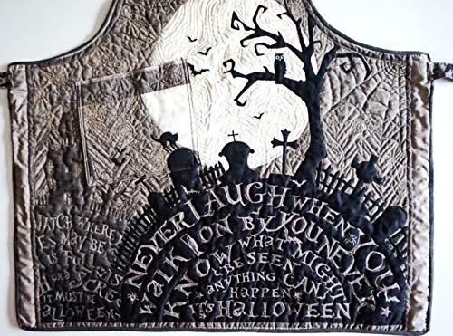 Halloween-Gothic-Schürze