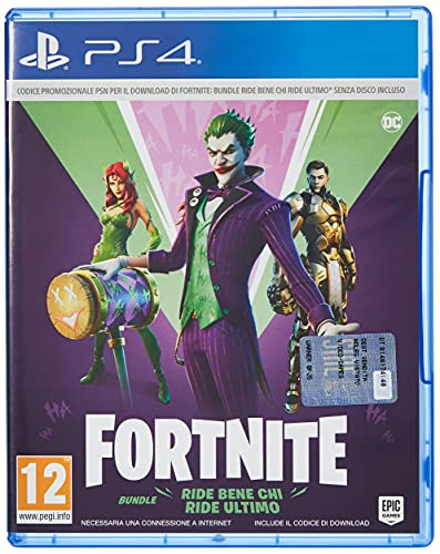 Fortnite: The Last Laugh Bundle – PlayStation 4