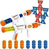 X TOYZ Shooting Games Toy for Kids, 2pk Foam Ball Popper...