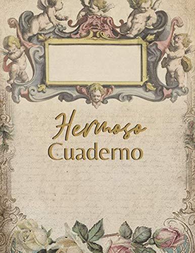 Hermoso Cuaderno: Cuaderno bonito de notas - Páginas decoración vintage A4 - Para escribuer, scrapbook, origami (Cuaderno Creativo)