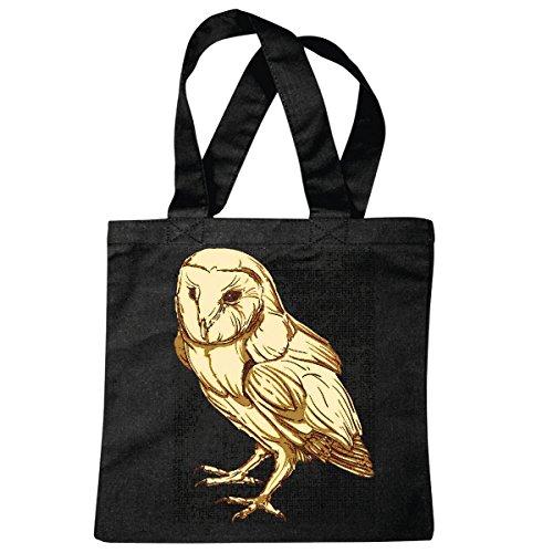 sac à bandoulière UHU OWL ROSSIGNOL LIFESTYLE FASHION STREETWEAR HIPHOP SALSA LEGENDARY Sac école Turnbeutel en noir