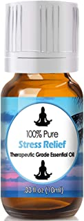 Stress Relief Blend Essential Oil for Diffuser & Reed Diffusers (100% Pure Essential Oil) 10ml