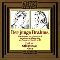 Young Brahms/Pn. Son No. 3/Variations