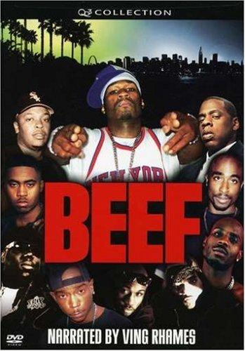 DVD-Beef I50Cent;JayZ;Nas;DMX;Tupac;Dre