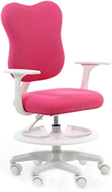 Armchairs Chairs Children's Study Chair Writing Chair Student Chair Home Lift Chair Computer Chair for Kids (Color : Pink)
