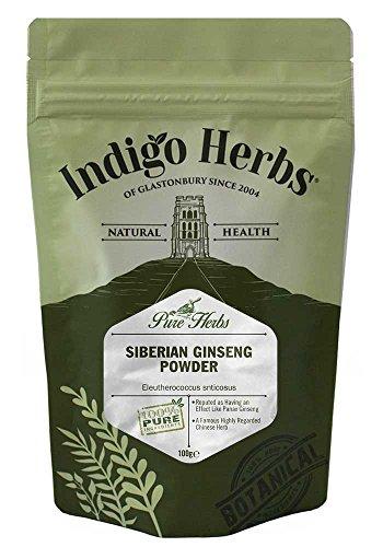 Indigo Herbs Sibirischer Ginseng Pulver (Taigawurzel) 100g