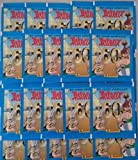 Panini 60 Jahre Asterix Abenteuer Sticker 25 Tüten / 125 Sticker -
