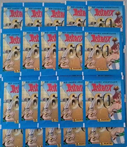Panini 60 Jahre Asterix Abenteuer Sticker 25 Tüten / 125 Sticker