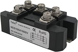 Taiss / 100A 1600V 5 Terminals 3 Phase Diode Module Bridge Rectifier (Warranty 1 Years) MDS-100A