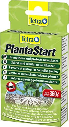 Tetra PlantaStart mesttabletten (voor prachtige waterplanten in het aquarium, bevordert de wortelvorming, ideaal bij nieuwe of aanplanten), 12 tabletten