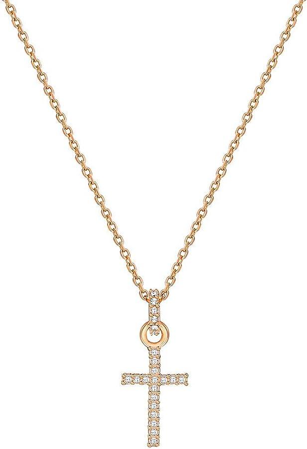 Swarovski Mini Cross Pendant 5278296 Woman Crystal