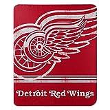 NORTHWEST NHL Detroit Red Wings Fleece Throw Blanket, 50' x 60', Fade Away