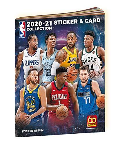 NBA 20/21 1 ALBUM Y 4 SOBRES NBA 20/21 PANINI