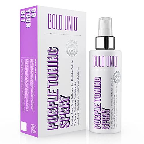 Blonde Toner Spray. Purple Leave In Toning Hair...