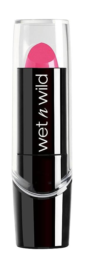 話凍結ワイプWET N WILD Silk Finish Lipstick - 15 Minutes Aflame (並行輸入品)