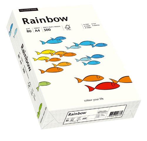 Papyrus 88042226 Druckerpapier Rainbow 80 g/m², A4 500 Blatt naturweiß